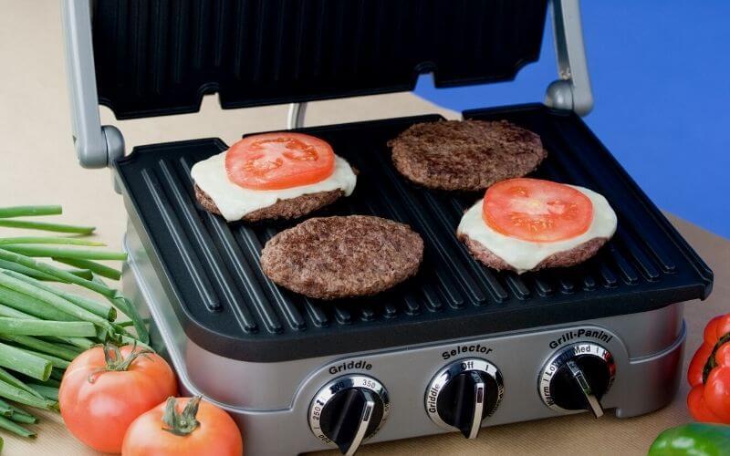 grigliata con bistecchiera elettrica